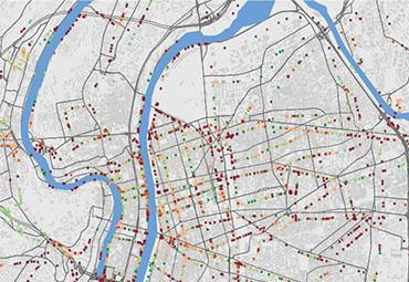 Shared Mobility Simulations for Lyon