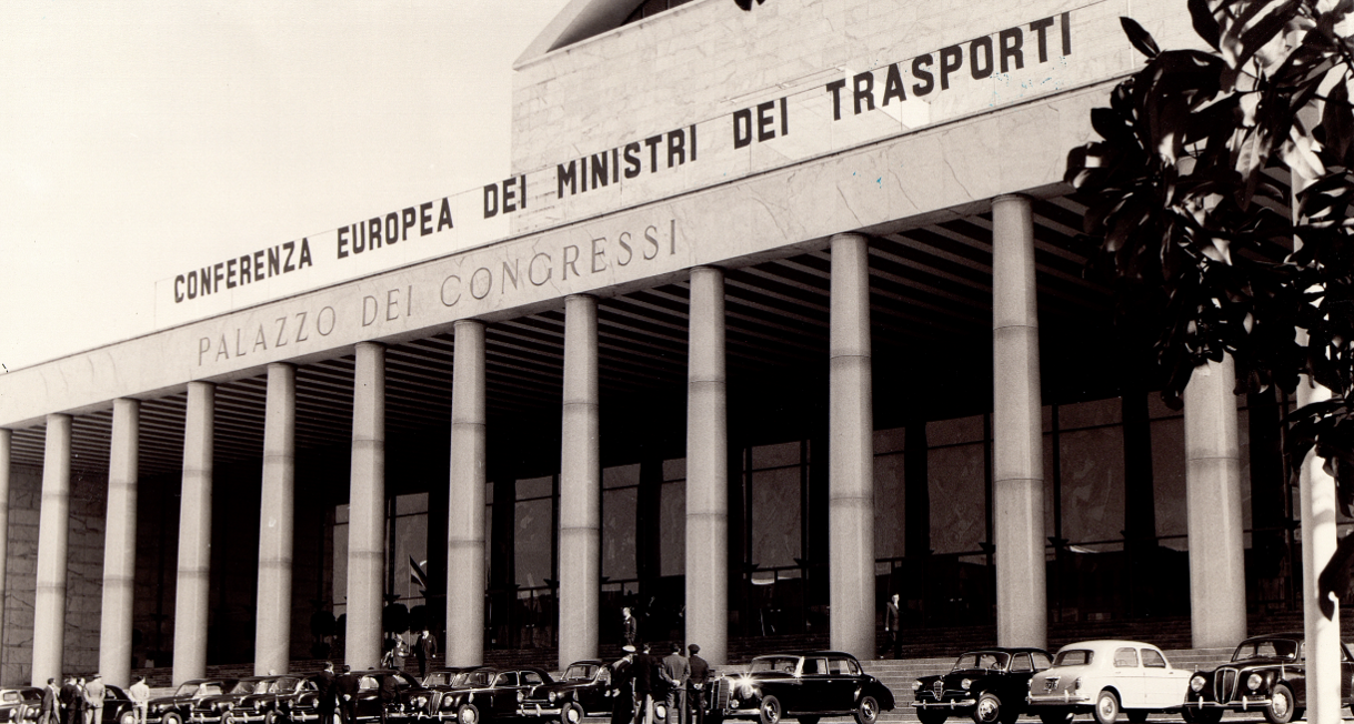 1957 ECMT meeting in Rome image