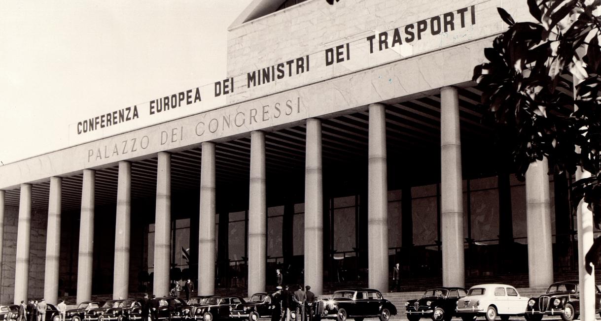 1957 ECMT meeting in Rome image