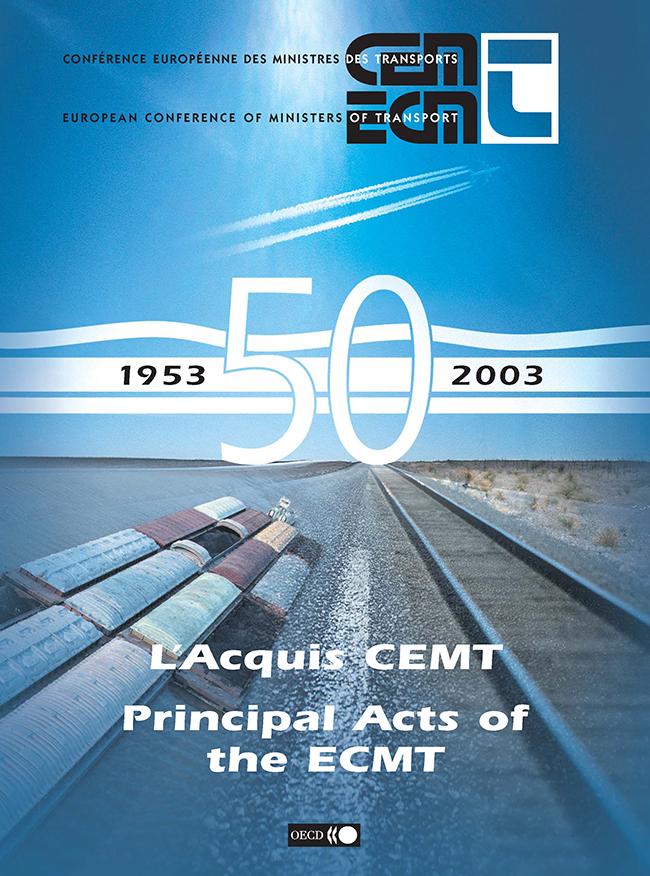 Principal Acts of the ECMT
