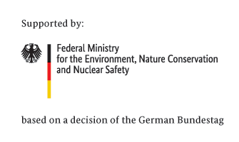 German Federal Ministry for the Environment, Nature Conservation and Nuclear Safety (BMU) logo