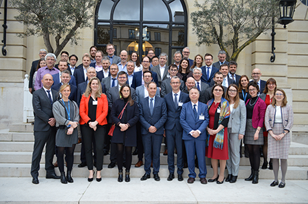 Decarbonising Air Transport Workshop family photo
