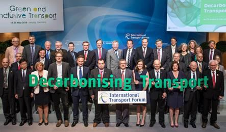 Decarbonising Transport project launch partner family photo