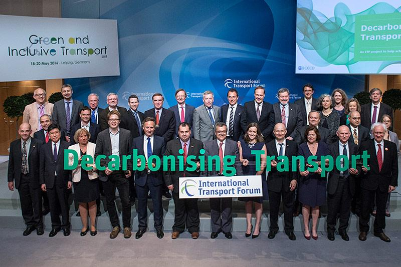 decarbonising transport project launch family photo