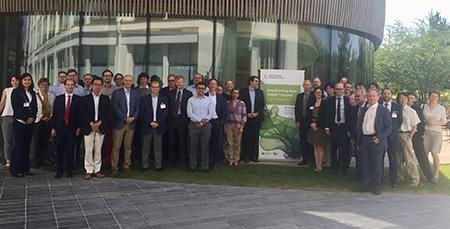 Decarbonising Road Freight Transport Workshop family photo