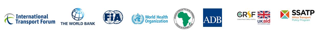 Road safety observatories partner logos