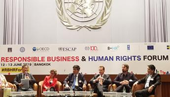Responsible Business and Human Rights Forum in Bangkok