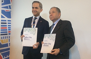 Safer City Streets launch