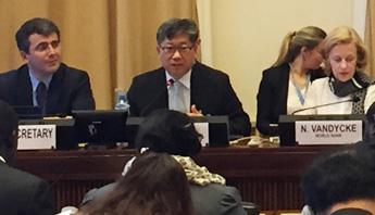 Intermodality centre of UNECE policy debate
