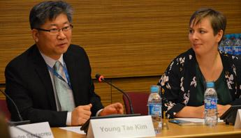 Young Tae Kim opens Cycling Safety Roundtable