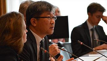 Young Tae Kim, with OECD Ambassadors