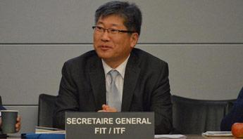 Young Tae Kim, ITF Secretary-General