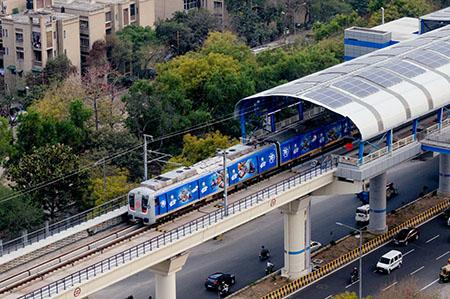 Decarbonising India's Transport System